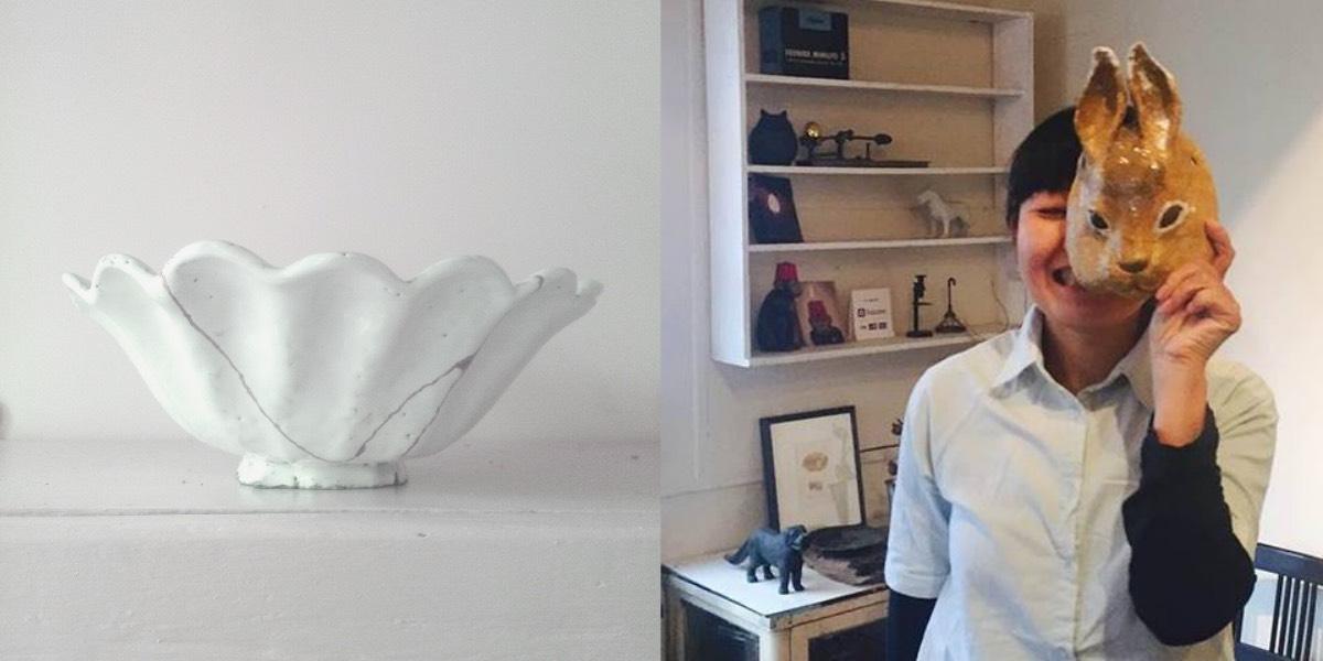 SAKURA BISCUIT Kintsugi & Ceramic